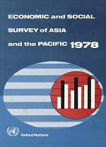 Economic and Social Survey of Asia and the Pacific 1978
