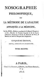 Nosographie philosophique: Volume2