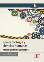 Epistemolog  a y ciencias humanas PDF