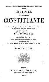 Histoire parlementaire de la Révolution française: Volume3
