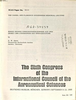 Proceedings of the     Congress of the International Council of the Aeronautical Sciences PDF