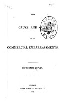 The Cause and Cure of Our Commercial Embarrassments PDF