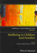 Wellbeing  A Complete Reference Guide  6 Volume Set