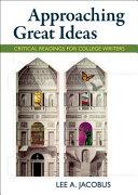 Approaching Great Ideas Book
