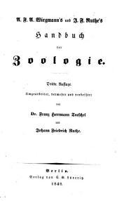 A. F. A. Wiegmann's und J. F. Ruthe's Handbuch der Zoologie