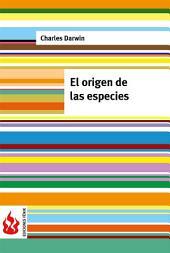 El origen de las especies (low cost). Edición limitada