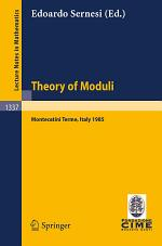 Theory of Moduli