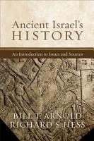 Ancient Israel s History PDF