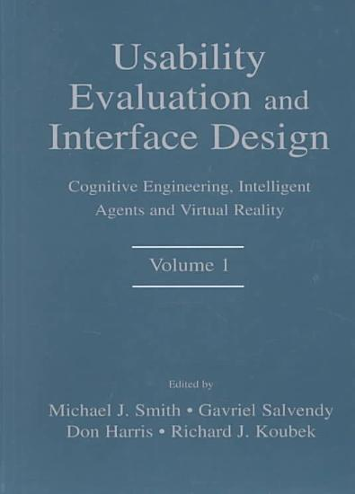 Usability Evaluation and Interface Design PDF