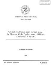 Geological Survey of Canada, Open File 3094