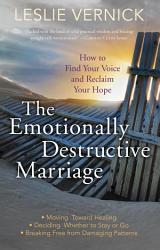 The Emotionally Destructive Marriage Book PDF