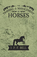 TRAINING & MGMT OF HORSES