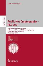 Public-Key Cryptography - PKC 2021