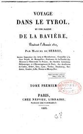 Voyage dans le Tyrol et une partie de la Bavière pendant l'année 1811