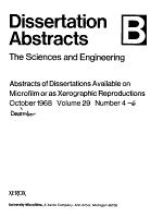 Dissertation Abstracts PDF