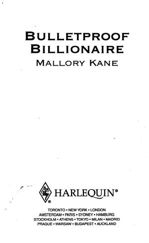 Bulletproof Billionaire PDF