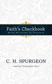 Faith's Checkbook: Daily Devotions to Treasure