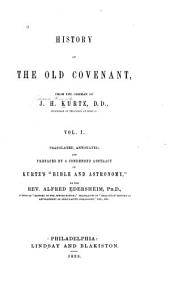 History of the Old Covenant: Volume 1
