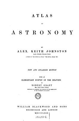 Atlas of Astronomy PDF