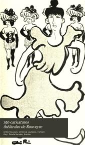 150 caricatures théâtrales de Rouveyre
