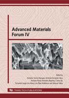 Advanced Materials Forum IV PDF