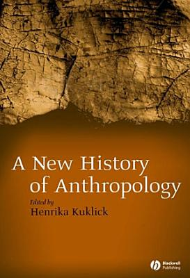 New History of Anthropology PDF
