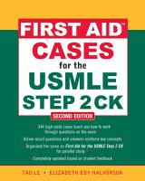 First Aid Cases for the USMLE Step 2 CK  Second Edition PDF