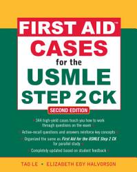 First Aid Cases For The Usmle Step 2 Ck Second Edition Book PDF