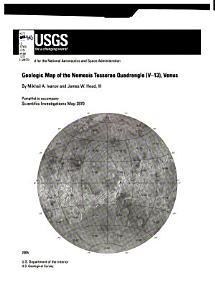 Geologic Map of the Aino Planitia Quadrangle  V 46   Venus
