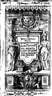 Il Belisario poema del sig. Angelita Scaramuccia al ill.mo et ecc.mo sig. Mario Conti Sforza ..