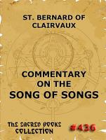 Commentary on the Song of Songs PDF