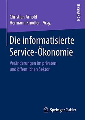 Die informatisierte Service   konomie PDF