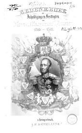 Gedenkboek der inhuldiging en feesttogten van Zijne Majesteit Willem 2, 1840-1842