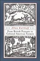 From British Peasants to Colonial American Farmers PDF