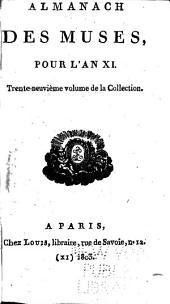 Almanach des muses: Volume40