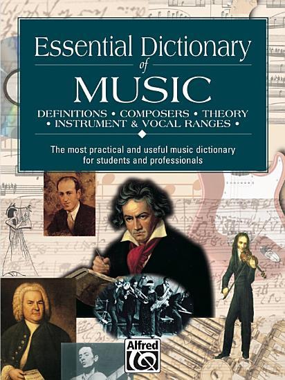 Essential Dictionary of Music PDF