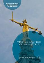 Victims and the Criminal Trial PDF