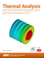 Thermal Analysis with SOLIDWORKS Simulation 2015 and Flow Simulation 2015 PDF