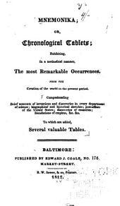 Mnemonika: or, Chronological tablets