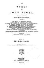 The Works of John Jewel: Volume 2