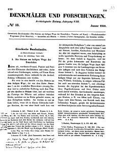 Denkm  ler  Forschungen und Berichte PDF