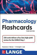 Lange Pharmacology Flash Cards  Third Edition Book