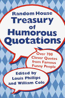 Random House Treasury of Humorous Quotations PDF