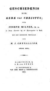 Geschiedenis der kerk van Christus: Volume 3