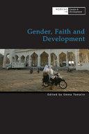 Gender, Faith and Development