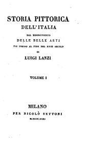 Storia pittorica dell'Italia, dal risorgimento delle belle arti fin presso al fine del xviii. secolo: Volumi 1-2