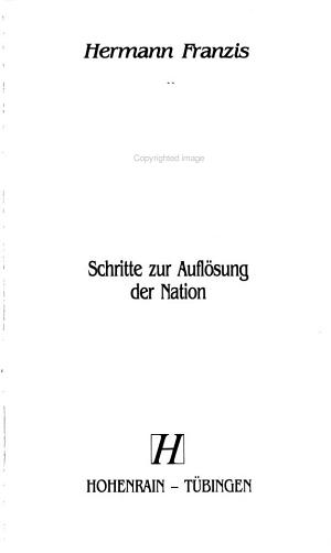 Die Zerst  rung des politischen Standorts Deutschland PDF