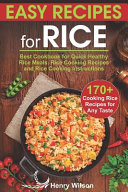Easy Recipes for Rice