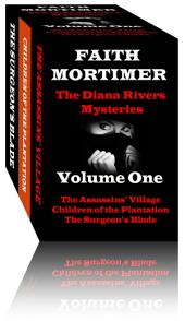 The Diana Rivers Mysteries - Volume One: Boxed Set of 3 Murder Mystery Suspense Novels