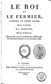 Comédies et opéra-comiques